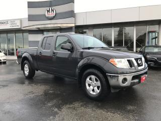 Used 2012 Nissan Frontier SV CREW 4.0L 4WD BLUETOOTH ONLY 160KM for sale in Langley, BC