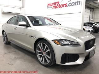 Used 2016 Jaguar XF S Sporty Elegance Pano NAV AWD One Owner for sale in St. George Brant, ON