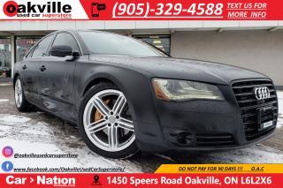 Used 2014 Audi A8 3.0 | MATTE BLACK | MASSAGE | NAV | B/U CAMERA for sale in Oakville, ON