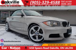 Used 2009 BMW 1 Series 135 i | CABRIOLET | BLUETOOTH | HEATED SEATS | 300HP for sale in Oakville, ON