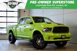 Used 2017 RAM 1500 Sport - custom wheels, lift kit, magna flow exhaus for sale in London, ON