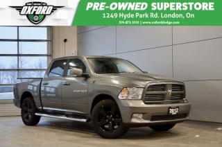 Used 2012 RAM 1500 Sport - 5.7L hemi, 4x4, Trailer Hitch, Remote Star for sale in London, ON