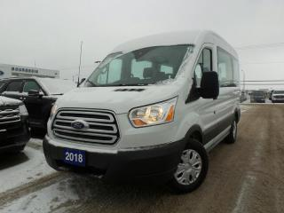 Used 2018 Ford Transit Passenger Wagon XLT for sale in Midland, ON