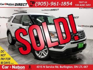 Used 2017 Ford Explorer | 4X4| BACK UP CAMERA & SENSORS| for sale in Burlington, ON