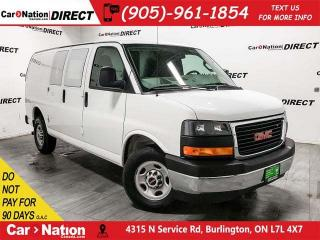 Used 2017 GMC Savana 2500 | ONE PRICE INTEGRITY| OPEN SUNDAYS| for sale in Burlington, ON