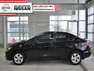 Used 2015 Honda Civic Sedan LX  - $109.84 B/W for sale in Mississauga, ON