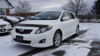 Used 2009 Toyota Corolla S MODEL * 2 SETS OF TIRES AND WHEELS * for sale in Woodbridge, ON