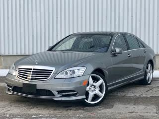 Used 2013 Mercedes-Benz S-Class S350 BlueTEC 4MATIC Accident Free Distronic Night Vision for sale in Mississauga, ON