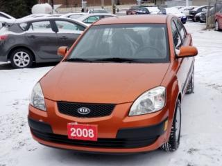 Used 2008 Kia Rio 4DR SDN EX for sale in Mississauga, ON