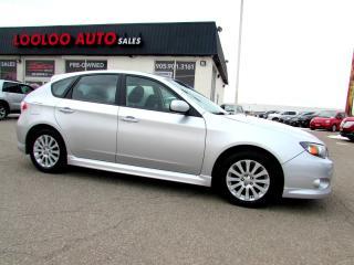 Used 2010 Subaru Impreza 2.5i Sport Hatchback AWD 5 Speed MAnual Sunroof Certified for sale in Milton, ON