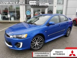 Used 2017 Mitsubishi Lancer GTS  - Sunroof -  Bluetooth for sale in Port Coquitlam, BC