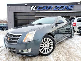 Used 2011 Cadillac CTS Coupe Performance ALL WHEEL DRIVE, EASY LOANS for sale in Calgary, AB