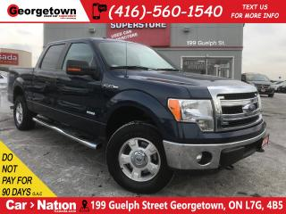 Used 2014 Ford F-150 XLT|CREW CAB | 4X4 | 3.5L | 6 PASSENGER | PWR SEAT for sale in Georgetown, ON
