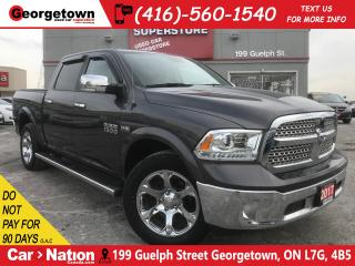 Used 2017 RAM 1500 Laramie | NAVI | CREW CAB | 4X4 | LEATHER for sale in Georgetown, ON
