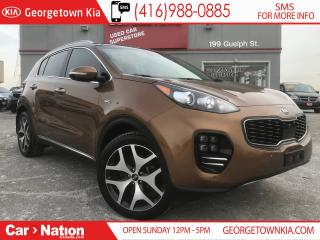 Used 2017 Kia Sportage SX Turbo | PANO ROOF | NAV | AWD | LOADED for sale in Georgetown, ON