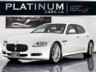 Used 2011 Maserati Quattroporte 400HP, NAVI, BOSE, WOOD TRIM, SUNSHADE for sale in Toronto, ON