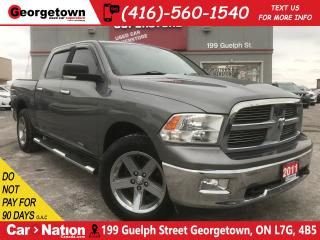 Used 2011 RAM 1500 SLT | 5.7L HEMI | 4X4 | CREW | ONLY 57K | BU CAM for sale in Georgetown, ON