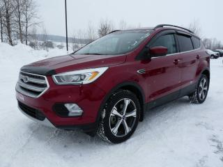 Used 2017 Ford Escape SE AWD (4X4), 2L, GPS for sale in Vallée-Jonction, QC