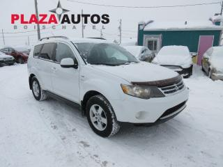 Used 2009 Mitsubishi Outlander LS for sale in Beauport, QC