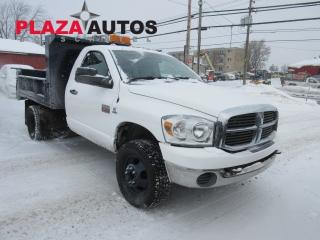 Used 2007 Dodge Ram 3500 St/slt Boite for sale in Beauport, QC
