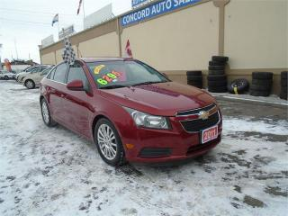 Used 2011 Chevrolet Cruze Eco w/1SA for sale in Breslau, ON