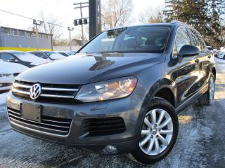 Used 2013 Volkswagen Touareg 3.0 TDI COMFORTLINE ~ NAVI ~ 175KMS ~ PANO ROOF !! for sale in Burlington, ON