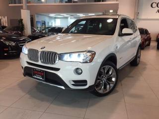 Used 2016 BMW X3 xDrive28i WARRANTY-ROOF-NAVI-CAMERA-NO ACCIDENTS for sale in Toronto, ON