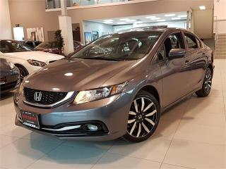 Used 2015 Honda Civic Sedan TOURING-NAVI-CAMERA-SUNROOF-LEATHER-ONLY 83KM for sale in Toronto, ON