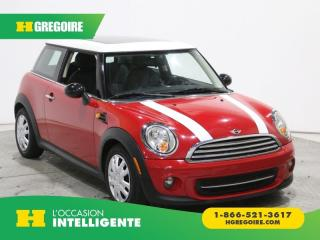 Used 2012 MINI Cooper 2DR CPE A/C GR for sale in St-Léonard, QC