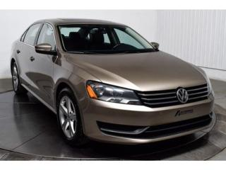 Used 2015 Volkswagen Passat Comfortline Tsi Cuir for sale in L'ile-perrot, QC