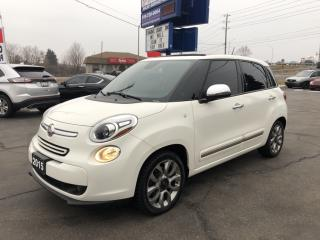 Used 2015 Fiat 500 L Lounge Nav! Panoramic roof! for sale in Brantford, ON