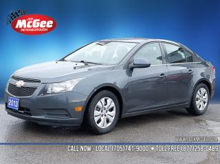 Used 2013 Chevrolet Cruze LT Turbo 1.4L Turbo,  6-Spd Auto, Ltr Wrapped Wheel, Cruise Ctrl, Bluetooth for sale in Peterborough, ON
