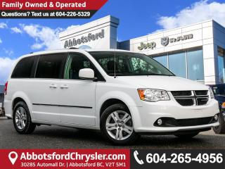Used 2015 Dodge Grand Caravan Crew *LOCALLY DRIVEN* for sale in Abbotsford, BC