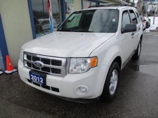 Used 2012 Ford Escape LOADED XLT MODEL 5 PASSENGER 3.0L - V6.. 4WD.. LEATHER.. HEATED SEATS.. POWER SUNROOF.. SYNC TECHNOLOGY.. for sale in Bradford, ON