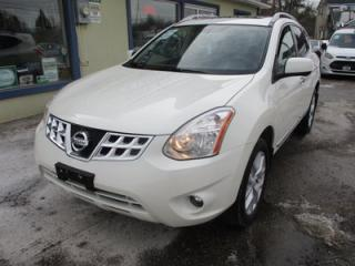 Used 2013 Nissan Rogue LOADED SL MODEL 5 PASSENGER 2.5L - DOHC.. AWD.. LEATHER.. HEATED SEATS.. NAVIGATION.. POWER SUNROOF.. BACK-UP CAMERA.. for sale in Bradford, ON