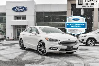 Used 2018 Ford Fusion Titanium AWD for sale in Ottawa, ON