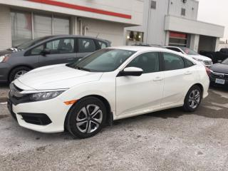 Used 2016 Honda Civic LX Bluetooth, Back Up Camera, Heated Seats and more! for sale in Waterloo, ON