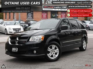 Used 2012 Dodge Grand Caravan Crew ACCIDENT FREE! NAVI! BACK UP CAM! for sale in Scarborough, ON