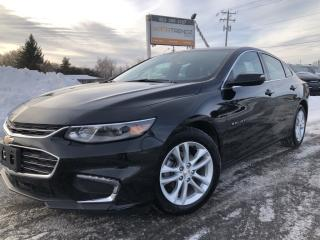 Used 2018 Chevrolet Malibu LT BackupCam, AUTOSTART, Bluetooth, Pwr Seat and Alloys! for sale in Kemptville, ON