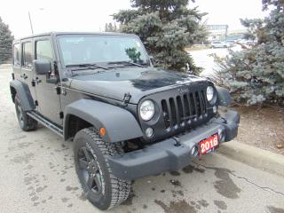 Used 2016 Jeep Wrangler UNLIMITED SPORT for sale in Brampton, ON