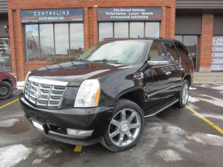 Used 2008 Cadillac Escalade $14,995+HST+LIC FEE / FULLY CERTIFIED / CLEAN CARFAX REPORT for sale in North York, ON