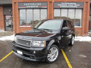 Used 2009 Land Rover Range Rover Sport Supercharged $14,995+HST+LIC FEE/ SUPERCHARGED/ FULLY CERTIFIED / CLEAN CARFAX for sale in North York, ON