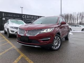 Used 2017 Lincoln MKC Reserve SYNC 3|LINCOLN DRIVE CONTROL|KEYLESS ENTRY|POWER LIFTGATE for sale in Barrie, ON