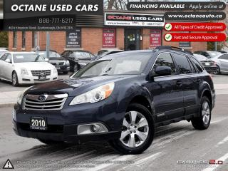 Used 2010 Subaru Outback 3.6 R Limited Package NAVI! BACK UP CAM! Limited Pkg for sale in Scarborough, ON