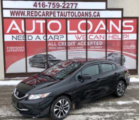 Used 2015 Honda Civic EX-ALL CREDIT ACCEPTED for sale in Scarborough, ON