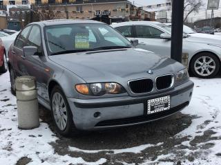 Used 2004 BMW 3 Series 4dr Sdn RWD 320i for sale in Scarborough, ON