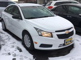 Used 2011 Chevrolet Cruze 4dr Sdn LS  w/1SB for sale in Scarborough, ON