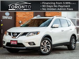 Used 2015 Nissan Rogue SL Navi camera Leather Pano roof xenon Led Bose for sale in North York, ON