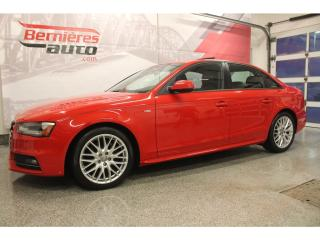 Used 2015 Audi A4 S-Line 6vit. Quattro for sale in Lévis, QC