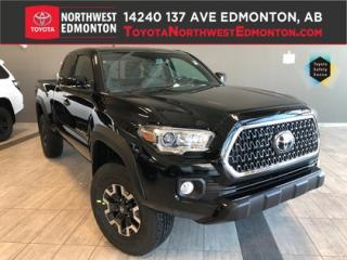 New 2019 Toyota Tacoma 4X4 Access Cab V6 Manual for sale in Edmonton, AB